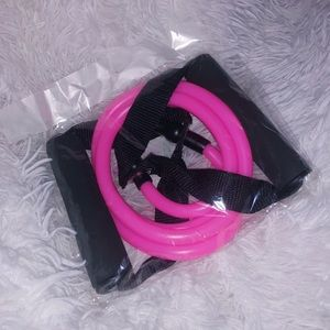 Other - BRAND NEW PINK FITNESS RESISTANT FITNESS BANDS